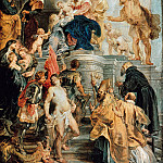 Virgin and Child Enthroned with Saints, Peter Paul Rubens