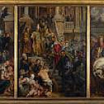Oil Sketch for High Altarpiece, St Bavo, Ghent, Peter Paul Rubens