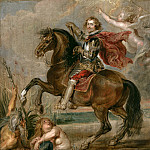 Equestrian Portrait Of The Duke Of Buckingham -- ., Peter Paul Rubens