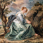 Hagar in the Desert - 1630 - 1632, Peter Paul Rubens