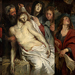 Peter Paul Rubens - Lamentation (Christ on the Straw) - 1617 -1618