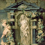 Peter Paul Rubens - The Statue of Ceres - Статуя Цереры - 1612 -1615
