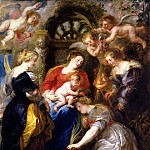The Crowning of St Catherine - 1631, Peter Paul Rubens