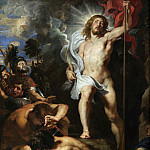 The Resurrection of Christ - 1611 -1612, Peter Paul Rubens
