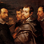 Rubens The Mantuan Circle Of Friends, Peter Paul Rubens