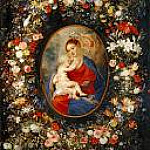 The Virgin and Child in a Garland of Flower, Peter Paul Rubens
