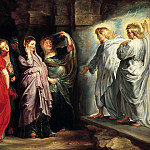 Peter Paul Rubens - The Holy Women at the Sepulchre, c. 1611-14 --