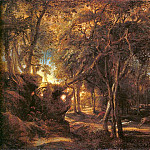 Peter Paul Rubens - Forest Landscape at the Sunrise - 1635