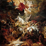 Peter Paul Rubens -- Defeat of Sanherib, King of Assur, Peter Paul Rubens