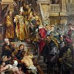 Saint Bavo is received by Saints Amand and Floribert, Peter Paul Rubens