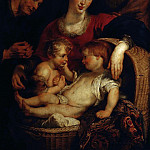 The Holy Family with St Elizabeth – 1614 – 1615, Peter Paul Rubens