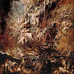 The Fall of the Damned - 1620, Peter Paul Rubens