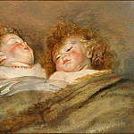 Two Sleeping Children, Peter Paul Rubens