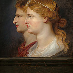 Peter Paul Rubens - Agrippina and Germanicus - 1614