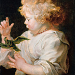 Peter Paul Rubens - Boy with Bird -1616