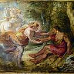 Aurora abducting Cephalus, Peter Paul Rubens