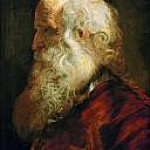Study of an Old Man, Peter Paul Rubens