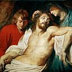 Deploration of Christ with Saints Mary and John the Apostle, Peter Paul Rubens