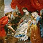 Tomyris Orders Cyrus s Head Lowered into a Vessel of Blood, Peter Paul Rubens
