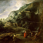 Peter Paul Rubens - Peter Paul Rubens -- Landscape with Ulysses and Nausicaa