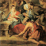 Adoration of the Shepherds – 1621 – 1622, Peter Paul Rubens