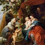 Holy Family Resting Under an Apple Tree, Peter Paul Rubens