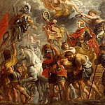 Peter Paul Rubens - Rubens, Peter Paul (1577-1640) -- Title: Triumphal Entry of Ferdinand of Austria into Antwerp
