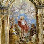 The Glorification of the Eucharist, Peter Paul Rubens