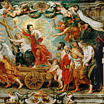 Rubens,Peter Paul -- Triumph of Faith., 1627. Oil on canvas, 481 x 595 cm, Peter Paul Rubens