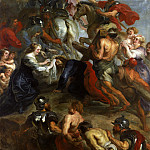 Rubens The Road to Calvary, Peter Paul Rubens