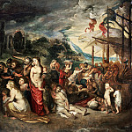 Rubens Aeneas And His Family Departing From Troy, Peter Paul Rubens
