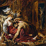 Самсон и Далила, эскиз, Peter Paul Rubens