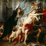 Peter Paul Rubens - The Consequences of War - 1637 -1638