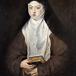Peter Paul Rubens - Ana Dorotea, Daughter of Rudolph II, a Nun at the Convent of the Descalzas Reales, Madrid