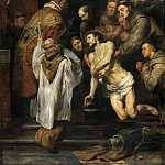 The Last Communion of St Francis - 1619, Peter Paul Rubens