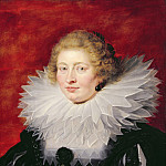 Портрет мадам де Вик, Peter Paul Rubens