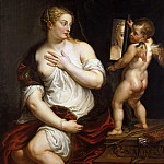 Peter Paul Rubens - Venus at her Toilet - Туалет Венеры - 1608