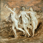 Peter Paul Rubens - The Three Graces -- c.1636
