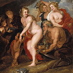 Peter Paul Rubens - Without Ceres and Bacchus Venus freezes [After]