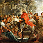 Peter Paul Rubens - Rubens,Peter Paul -- Christ's entry into Jerusalem, 1632 Canvas Inv. CA 165