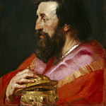 Melchior, The Assyrian King - 1618, Peter Paul Rubens