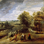Peter Paul Rubens -- Return from the Harvest, Peter Paul Rubens