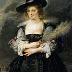 Peter Paul Rubens - Portrait of Helena Fourment