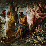Peter Paul Rubens - Pythagoras Advocating Vegetarianism