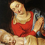 Virgin and Child, Peter Paul Rubens