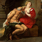 Cimon and Pero - 1630, Peter Paul Rubens
