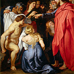 Attributed to Peter Paul Rubens -- Raising of Lazarus, Peter Paul Rubens