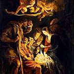 The Adoration of the Shepherds, Peter Paul Rubens