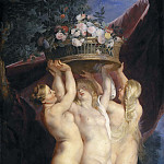 Peter Paul Rubens - The Three Graces [Workshop]