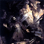 The Stigmatization of St Francis - 1616, Peter Paul Rubens